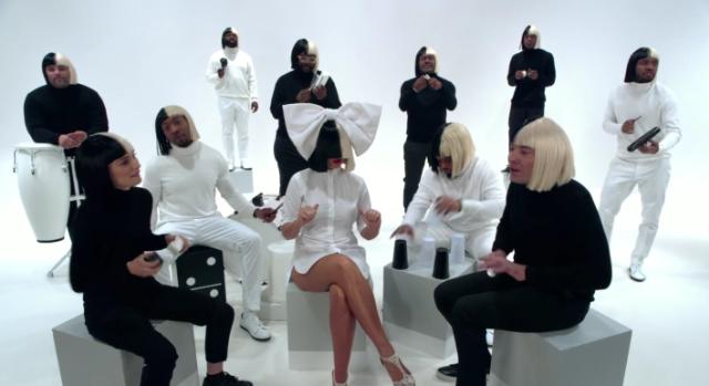 """Watch Sia, Natalie Portman, & Jimmy Fallon Sing """"Iko Iko"""""""