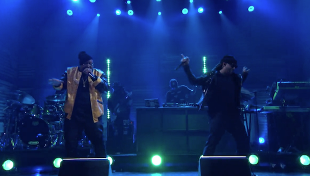 "Watch Ty Dolla $ign & E-40 Do ""Saved"" On Conan"