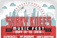Shaky Knees 2016 Lineup
