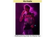 Wiz Khalifa's Wikipedia page