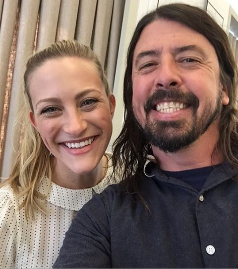 Dave Grohl Reunited With The Girl From Nirvana's