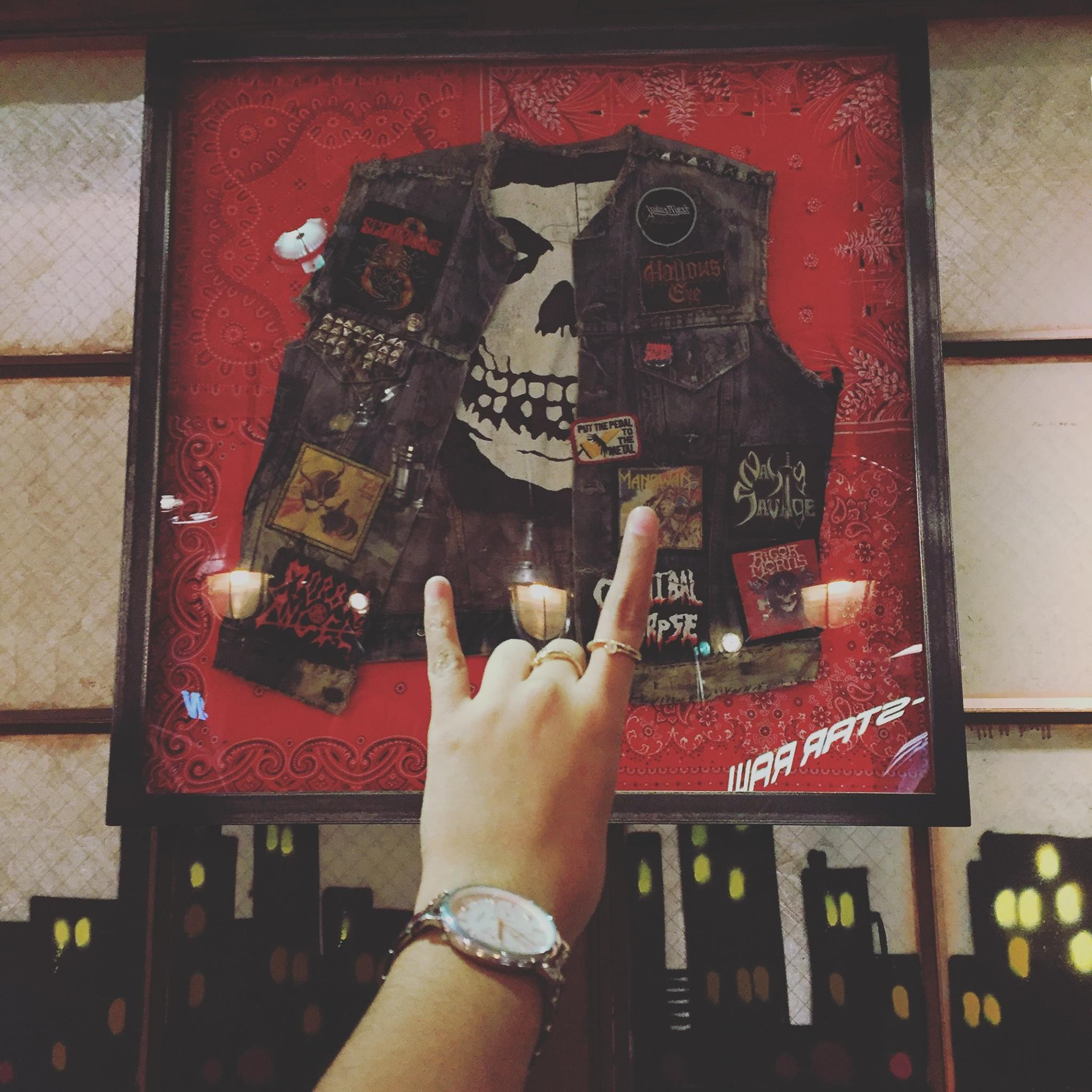 Oregon Metalheads Fabled Vest Appropriated By Macy's Display ... And He Wants Answers