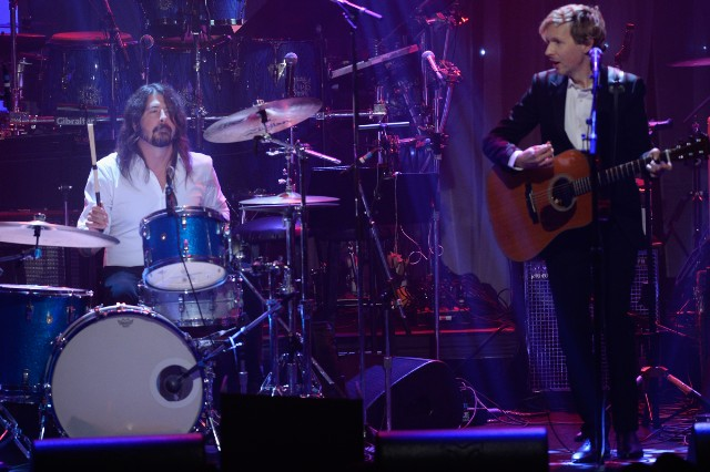 Beck and Dave Grohl