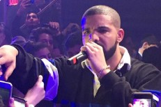 "Watch Drake Do ""Hotline Bling"" At A Bat Mitzvah"