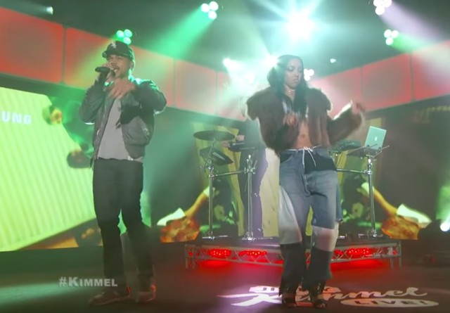 Chance The Rapper and Tinashe on Kimmel