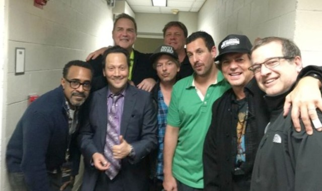 Eddie Vedder and comedy guys