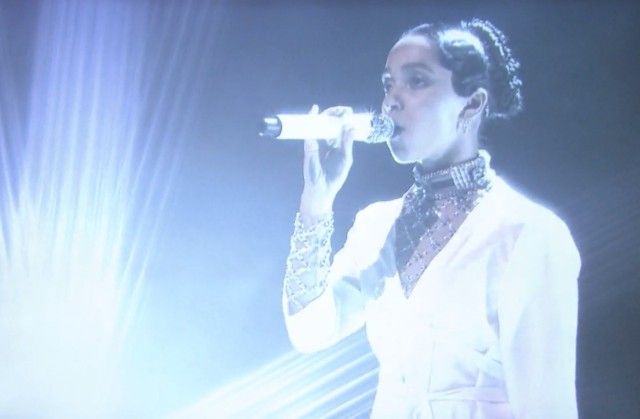 FKA twigs on The Tonight Show