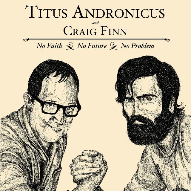 Craig Finn and Patrick Stickles