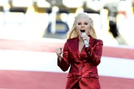 Watch Lady Gaga Sing The National Anthem At Super Bowl 50