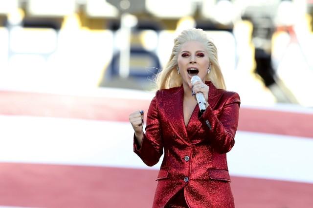 Watch Lady Gaga Sing The National Anthem At Super Bowl 50
