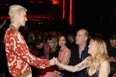 Justin Bieber meets Courtney Love