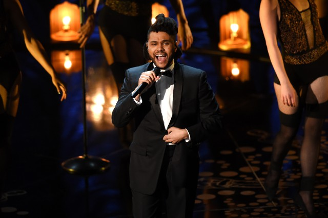 """Watch The Weeknd Perform """"Earned It"""" At The Oscars"""
