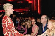 Justin Bieber Meets DGC's 1994 Roster At Saint Laurent Show