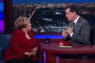 Watch Mavis Staples Sing &#8220;Take Us Back,&#8221; Talk Opening For MLK On <em>Colbert</em>