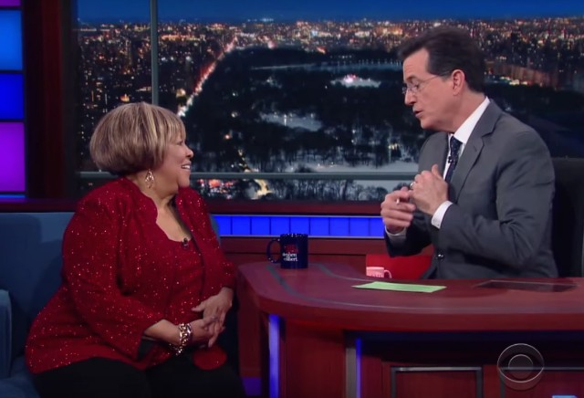 Mavis Staples on Colbert