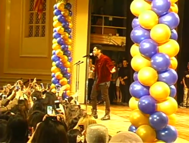 Watch Miguel S Surprise Performance At His Middle School S Talent