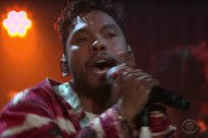 Watch Miguel Sing &#8220;Waves,&#8221; Talk Middle-School Awkwardness On <em>James Corden</em>