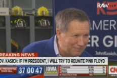 Presidential Candidate John Kasich Promises To Reunite Pink Floyd If Elected