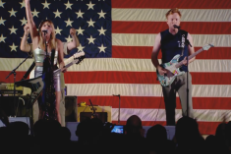 Watch Conan O'Brien & Grace Potter Play A Qatar-Themed White Stripes Parody