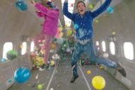 "Behind-The-Scenes Of OK Go's Zero Gravity ""Upside Down & Inside Out"" Video"