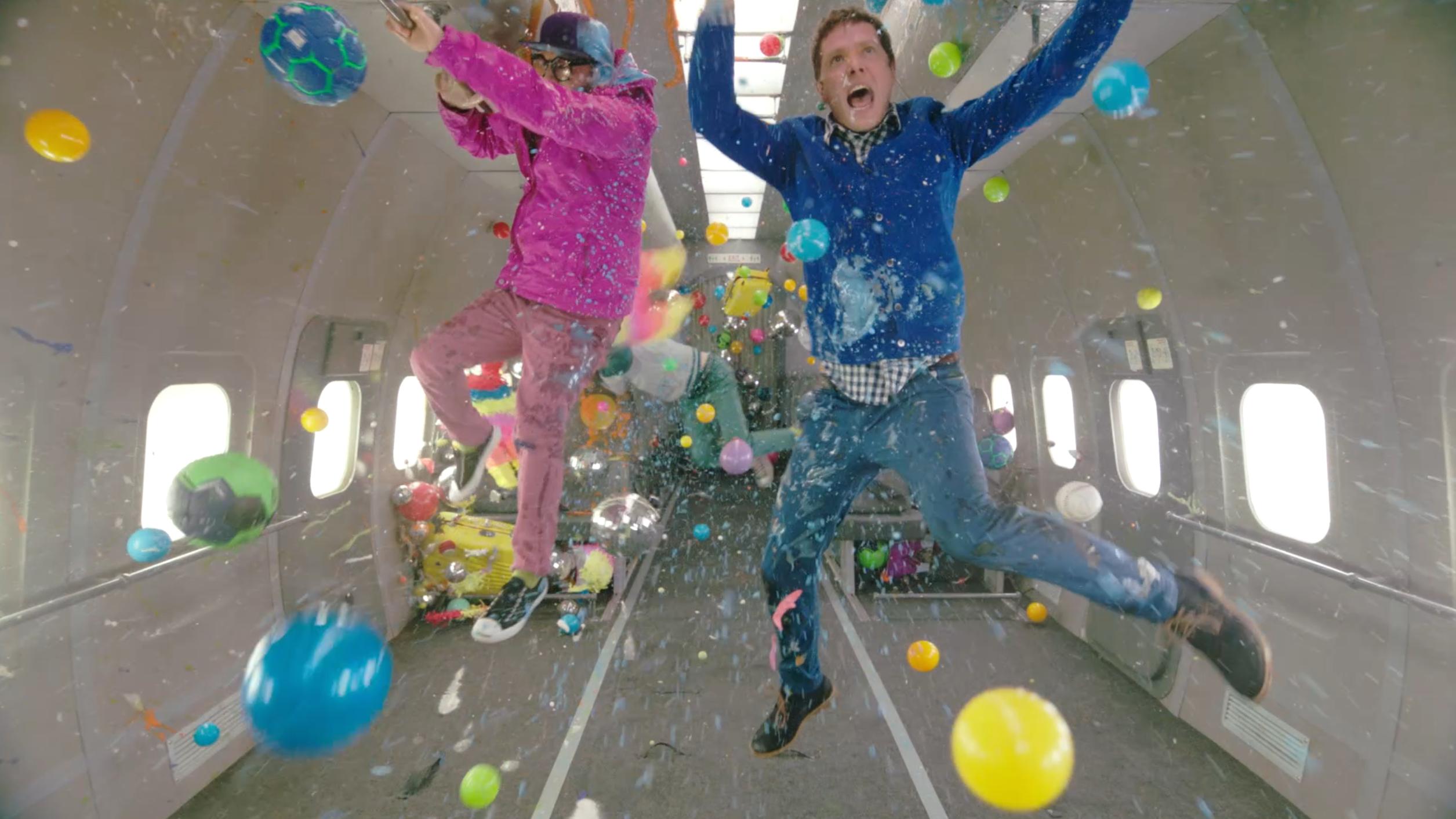 Behind-The-Scenes Of OK Go's Zero Gravity