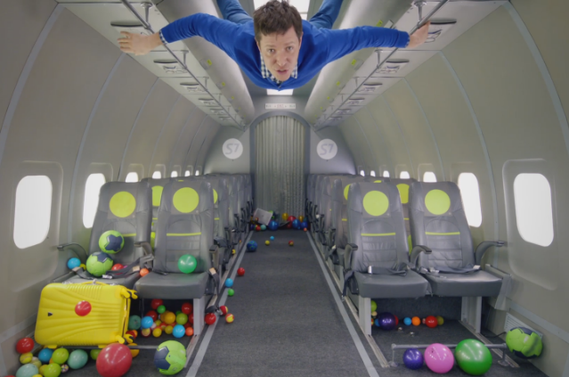"OK Go - ""Upside Down & Inside Out"" Video"