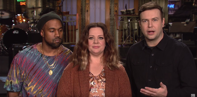 Kanye West Doesn't Compromise His Art For Melissa McCarthy's <em>SNL</em> Promo