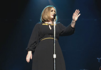 "Watch Adele Sing ""I Miss You"" Live For The First Time At Pre-Grammys Show In LA"