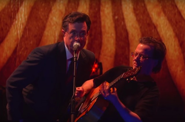 Stephen Colbert and Violent Femmes