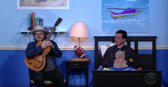 Wilco and Stephen Colbert