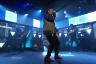 Watch Yo Gotti And Travis Barker Get &#8220;Down In The DM&#8221; On <em>Kimmel</em>