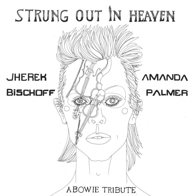 Amanda Palmer & Jherek Bischoff Made A David Bowie Covers EP, Featuring Neil Gaiman & More