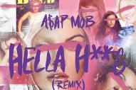 """A$AP Mob – """"Hella Hoes (Remix)"""" (Feat. Danny Brown &  A$ton Matthews)"""