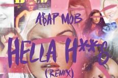 """A$AP Mob - """"Hella Hoes (Remix)"""" (Feat. Danny Brown & A$ton Matthews)"""
