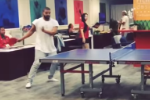 Drake Accepts NBA Hall Of Famer Reggie Miller's Ping Pong Challenge