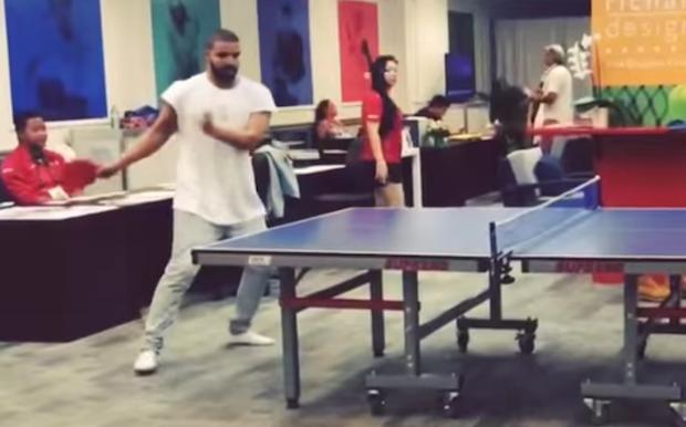 Drake Accepts NBA Hall Of Famer Reggie Miller's Ping Pong Challenge