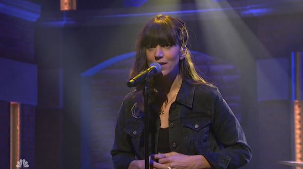 """Watch Eleanor Friedberger Perform """"Because I Asked You"""" On Seth Meyers"""