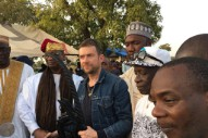 "Damon Albarn Honored As ""Local King"" In Mali"