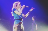 Grimes Electrocuted Onstage In Dublin