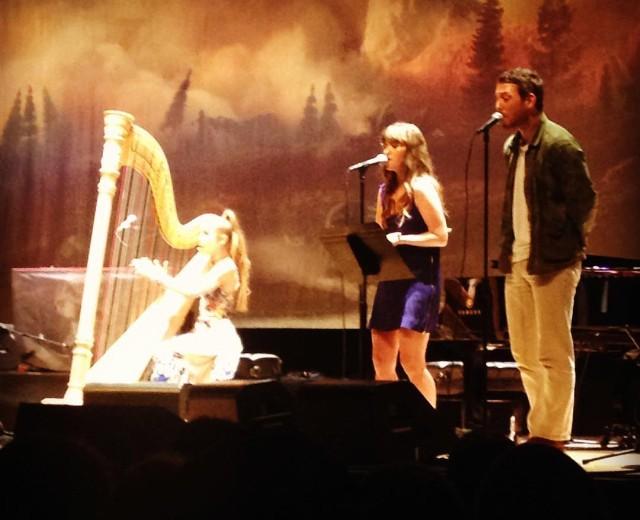 Joanna Newsom, Amber Coffman, & Robin Pecknold