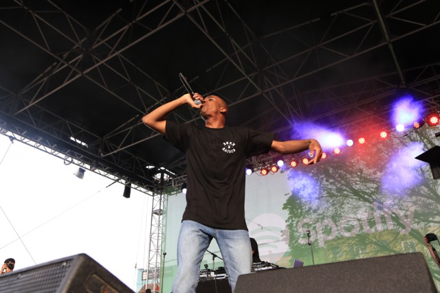 Vince Staples Spotify House 2016