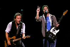 Bruce Springsteen and Eddie Vedder