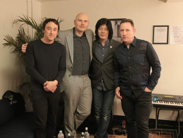 Jeff Schroeder & Billy Corgan & James Iha & Jimmy Chamberlain