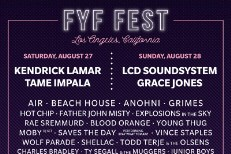 FYF 2016 Lineup