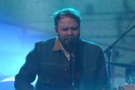 Watch Frightened Rabbit Bash Out &#8220;Get Out&#8221; On <em>Colbert</em>