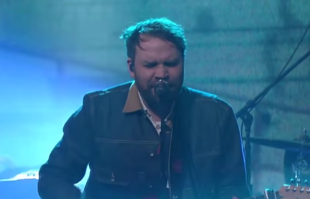 Frightened Rabbit on Colbert