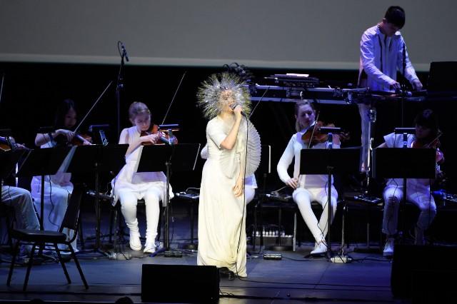 Björk with Arca