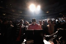 Kanye Still Working On Final <em>TLOP</em> Mixes