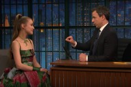 Watch Joanna Newsom Perform, Talk About Whether She&#8217;s Like An Elf On <em>Seth Meyers</em>