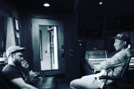 Justin Timberlake & Pharrell Are In The Studio Together